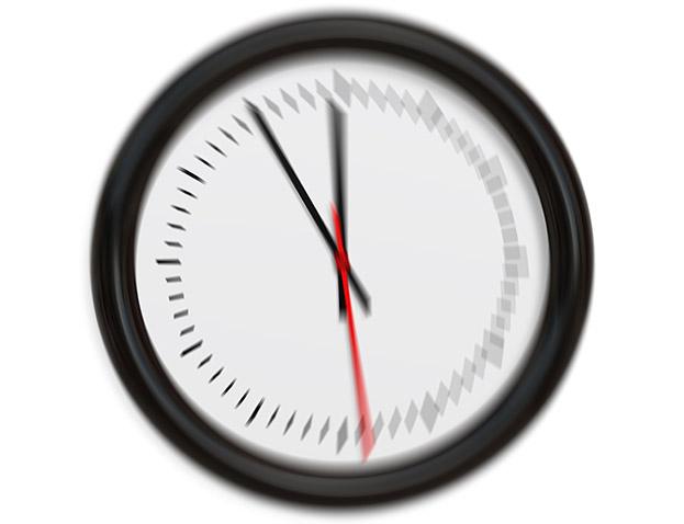 Fünf-vor-Zwölf-Uhr
